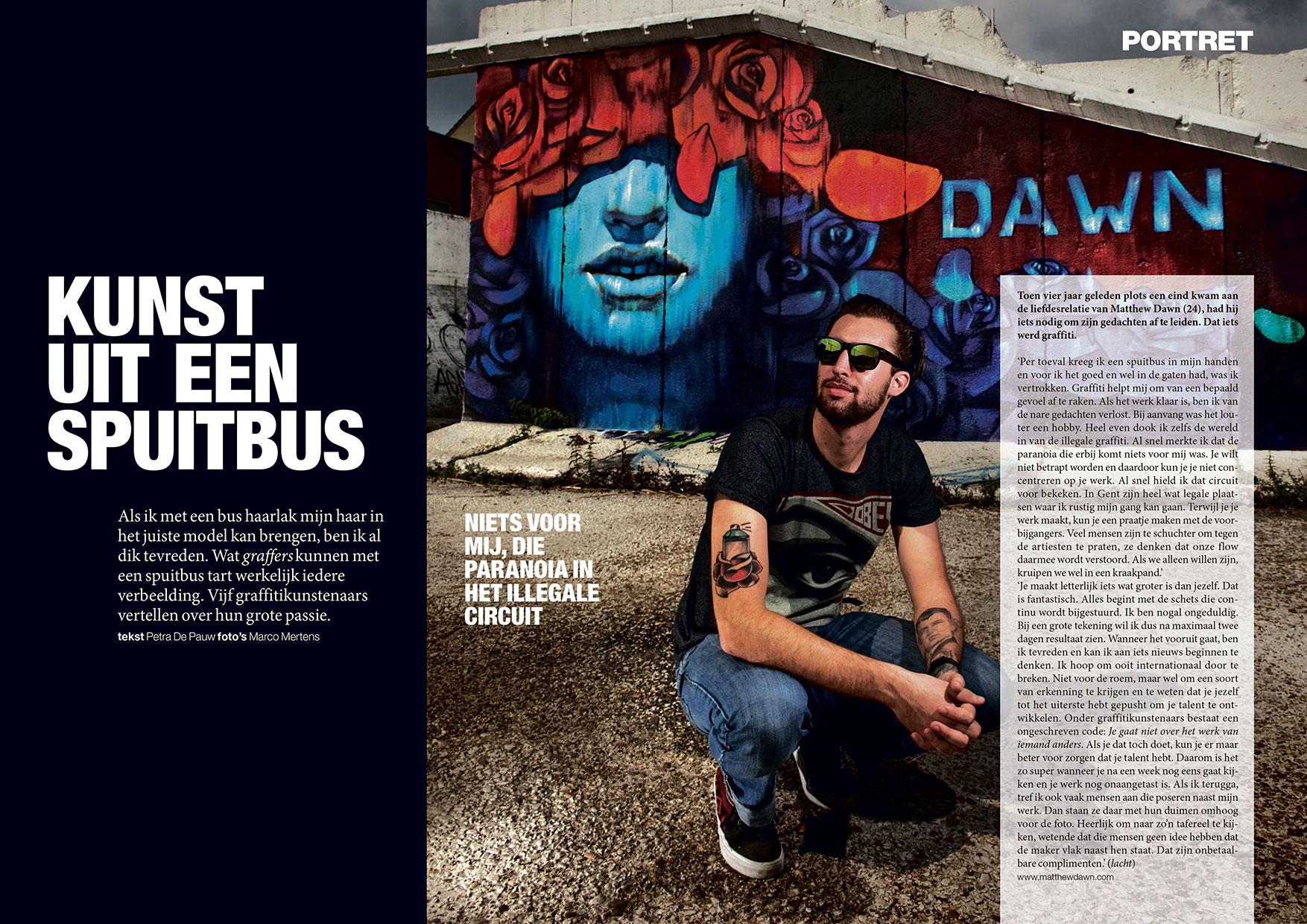 Matthew Dawn Article Interview Blue Lady Ghent Belgium