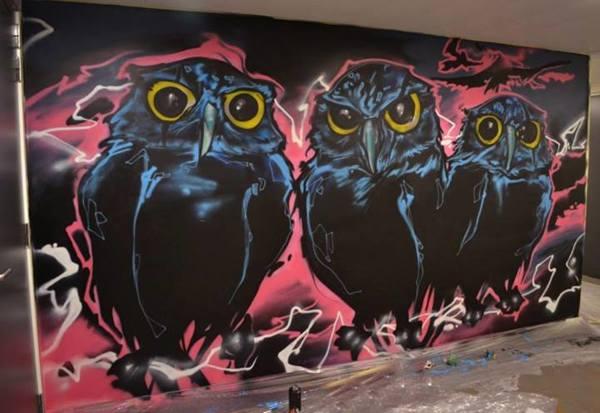 Graffiti Antwerp Kunst Op Kot Klaas Van Der Linden