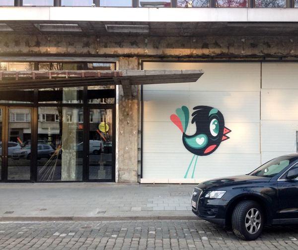 Graffiti Antwerp Kunst Op Kot Bue The Warrior