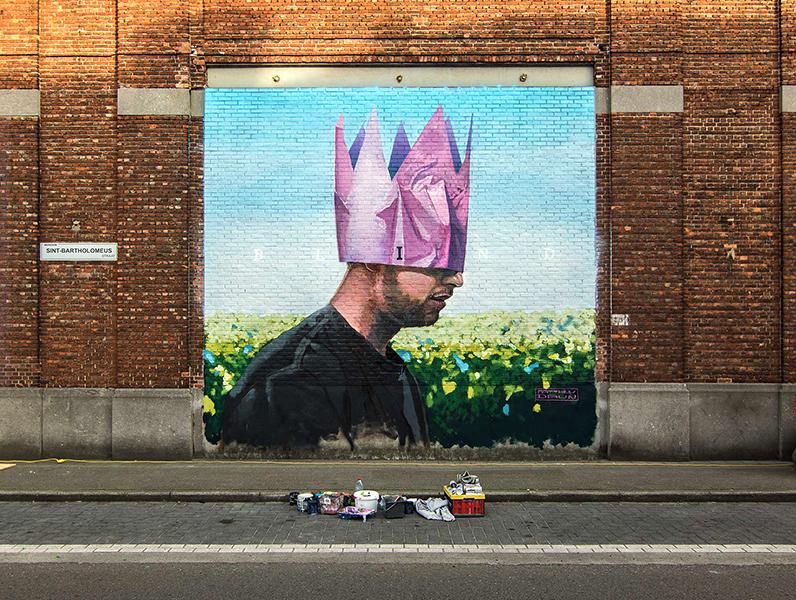 Blind Matthew Dawn Merksem Antwerpen Antwerp Street Art Graffiti
