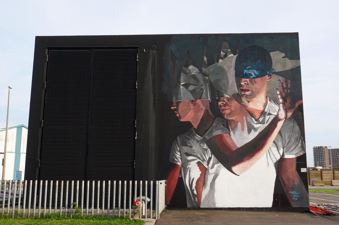 Graffiti street art antwerpen antwerp realism realistische muurschildering mural matthew dawn