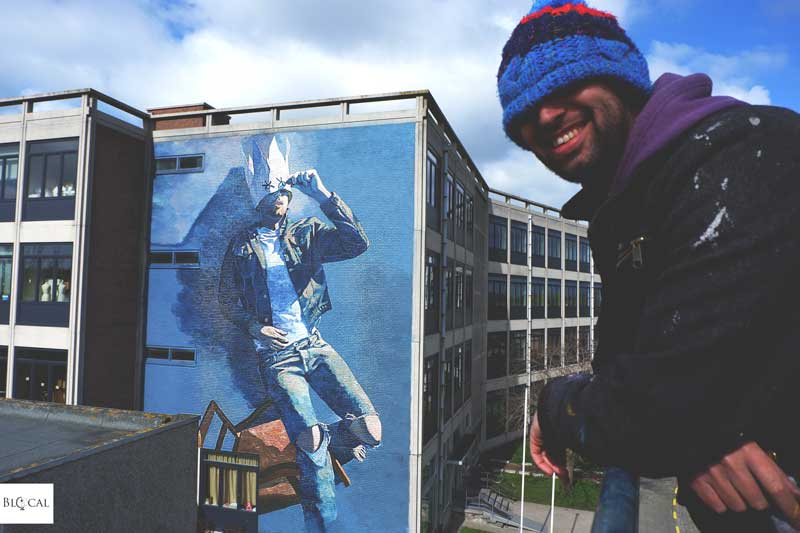 Matthew Dawn street artist portrait