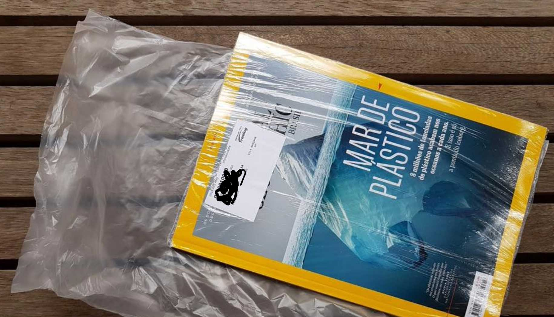 Crappy design national geographic plastic waste environment global warming